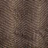 Black & Gray Striped Faux Fur Fabric